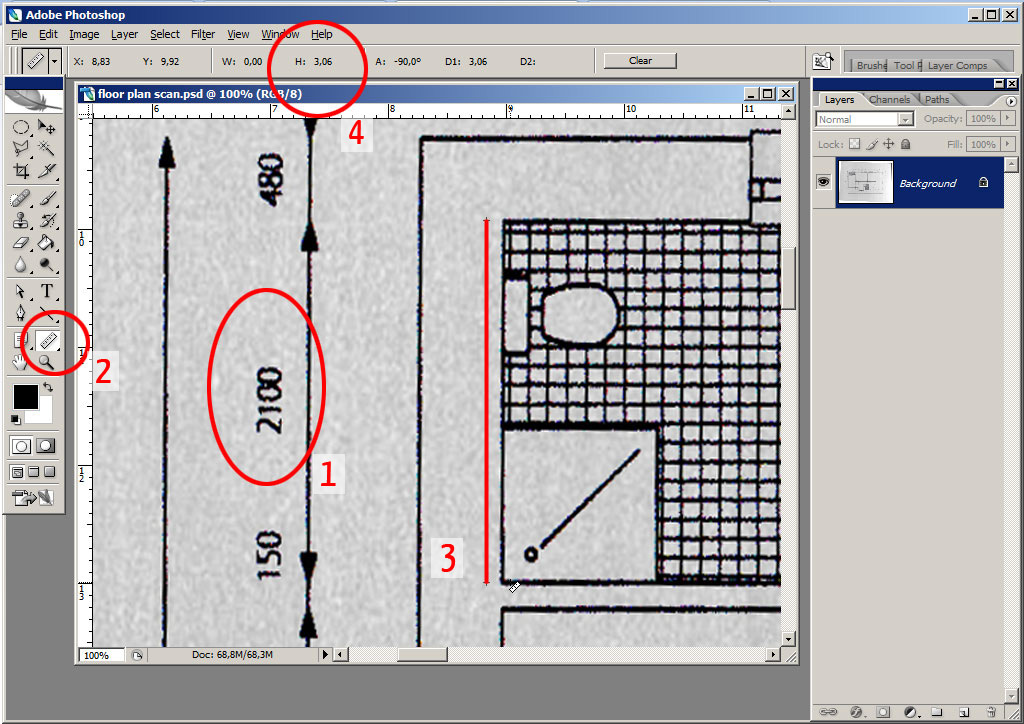 Blueprint measuring tools meaning choice image blueprint for Blueprint scale