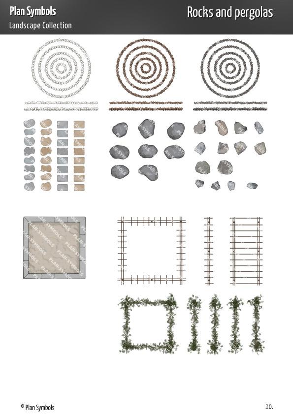 Ps Landscape Plat 11 Plan Symbols