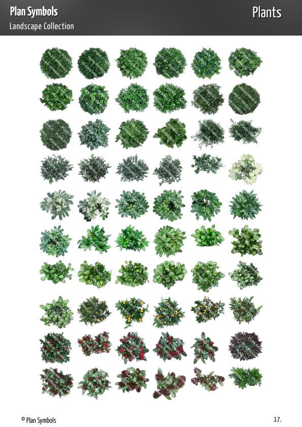 Ps Landscape Plat 18 Plan Symbols