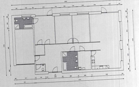 Dirty Scan X on How To Draw Shadows In A Floor Plan